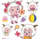 radiant lamb stickers (JDC314)